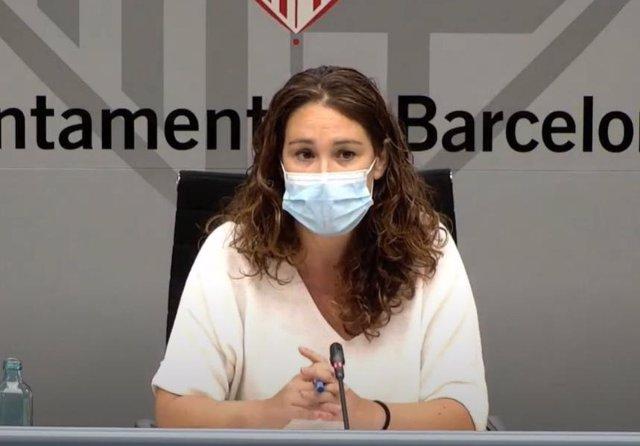 La tinent d'alcalde de Drets Socials de Barcelona, Laura Pérez