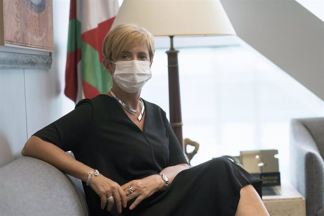 Arantxa Tapia, consejera de Desarrollo Económico e Infraestructuras del Gobierno vasco