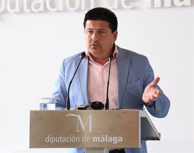 Francisco Oblaré, portavoz del PP en la Diputación de Málaga.