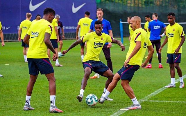 Fútbol/Champions.- El FC Barcelona viajará el jueves por la mañana a Lisboa para