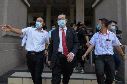 Malasia.- Presentan nuevos cargos de corrupción contra el exministro de Finanzas de Malasia
