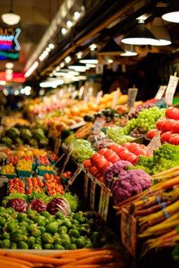 Interior del Mercado de Las Palmeritas