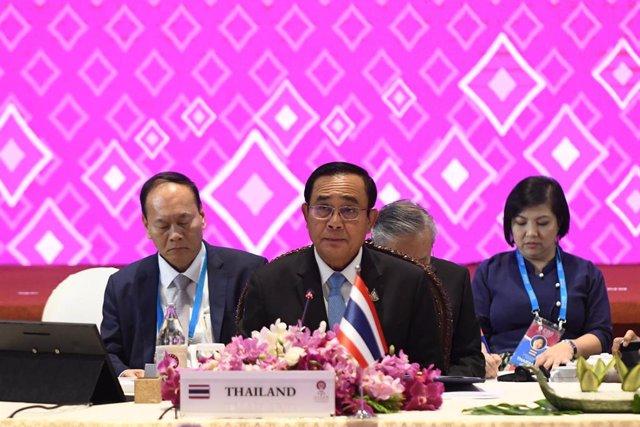 El general Prayuth Chan Ocha, primer ministro de Tailandia