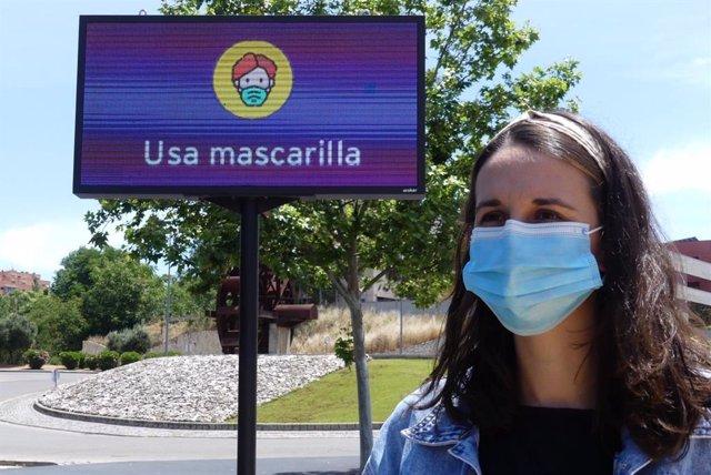 Campaña de uso de mascarilla en Guadalajara.