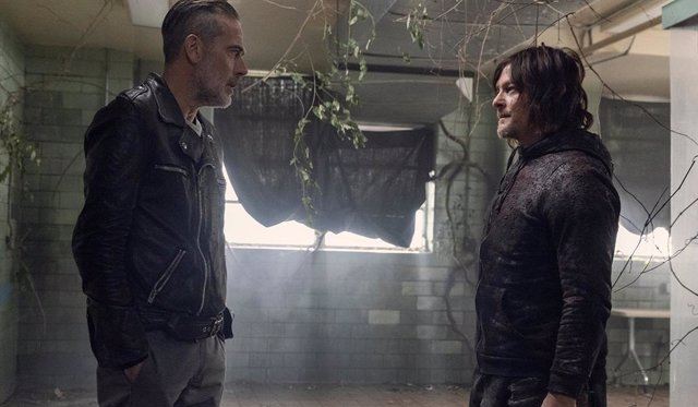 Daryl y Negan en The Walking Dead