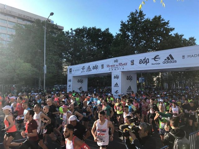 Imagen del Maratón de Madrid.