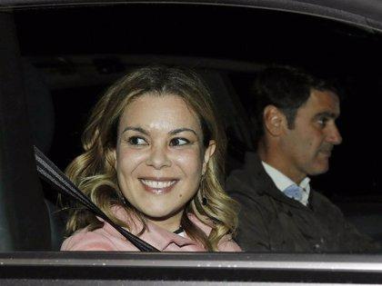 El gran gesto de María José Campanario con la prensa el día que se entierra a su suegro, Humberto Janeiro