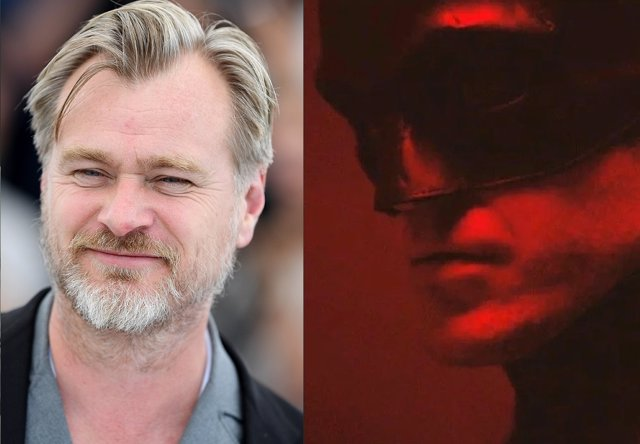Christopher Nolan y Robert Pattinson como The Batman
