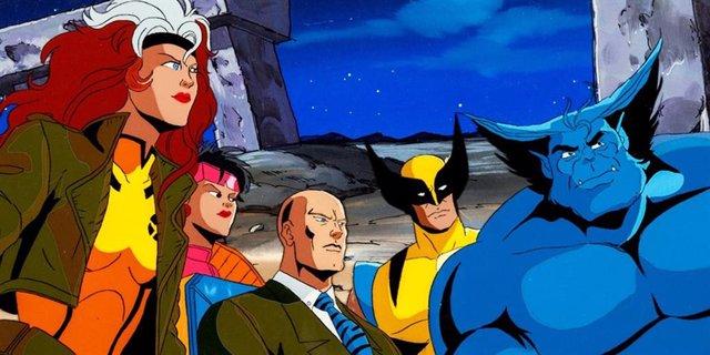 Imagen de la mítica serie de animación de los X-Men