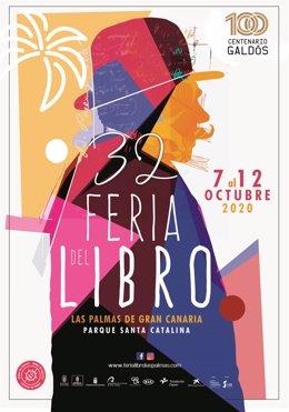Cartel de la Feria del Libro de Las Palmas de Gran Canaria