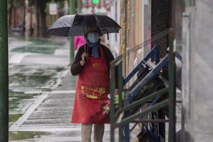 Avisos amarillos este martes por lluvias o tormentas en Córdoba, Jaén, Granada y Málaga