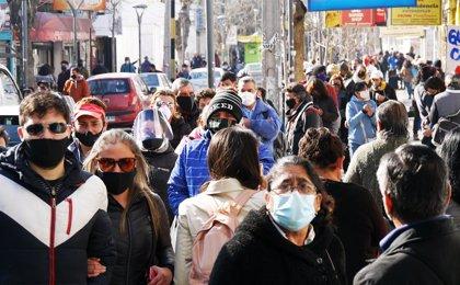 Coronavirus.- Chile sobrepasa los 375.000 casos de coronavirus tras sumar cerca de 2.000 en la última jornada