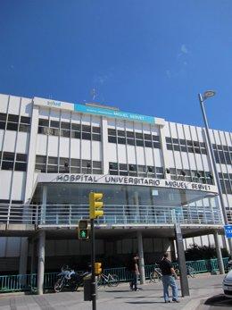 Foto de archivo del Hospital Miguel Servet De Zaragoza.