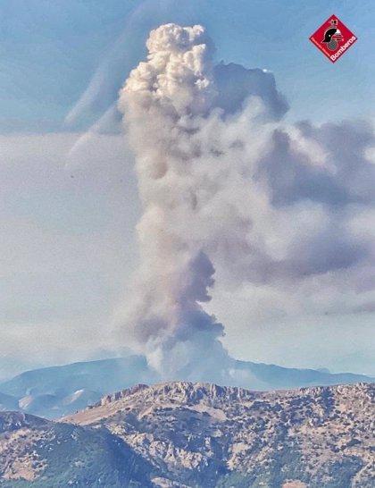 Extinguido el incendio de Castell de Castells, activo desde el sábado