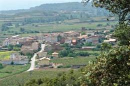 Pueblo de Medrano en La Rioja