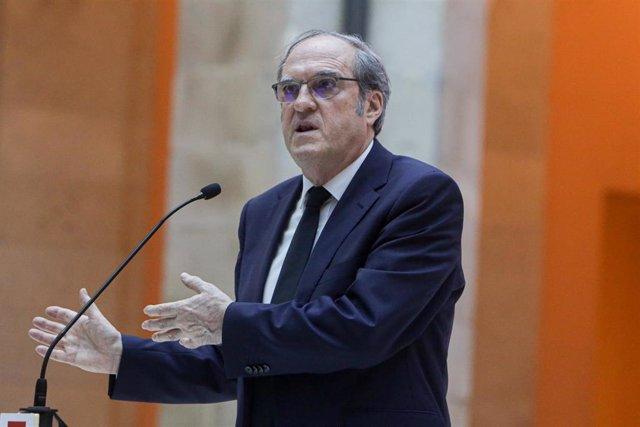 El portavoz del grupo parlamentario del PSOE, Ángel Gabilondo.