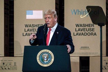 EEUU.- Trump abandona una rueda de prensa tras producirse un tiroteo cerca de la Casa Blanca