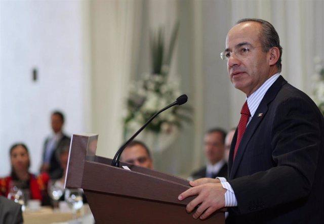 El expresidente mexicano, Felipe Calderón.