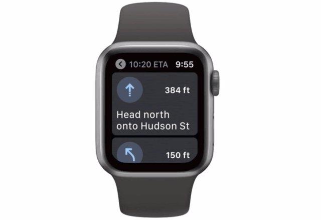 Google Maps relanza su aplicación para Apple Watch, sin soporte desde 2017