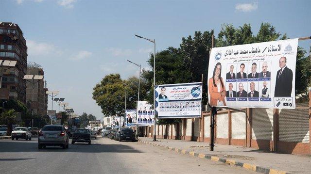 Egipto.- Las restricciones por la pandemia marcan las primeras elecciones al Sen