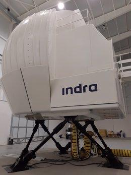 Simulador Sim NH90 de Indra.