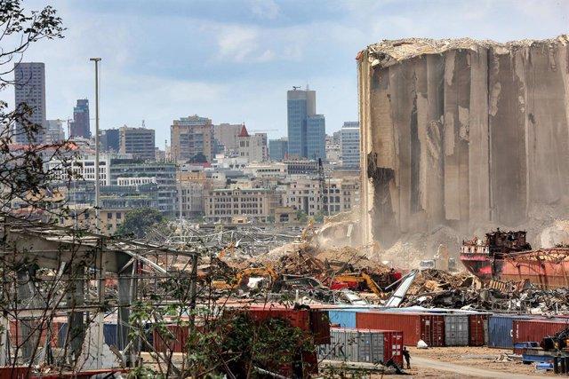 Líbano.- Más de 30 refugiados murieron en las explosiones del puerto de Beirut