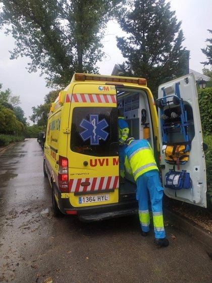 Herido en Torrelodones un hombre de 61 años tras ser alcanzado por un rayo al salir al jardín de su casa
