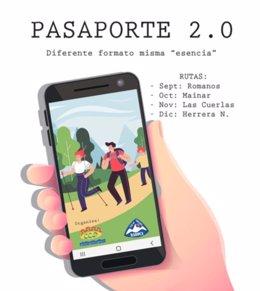 La Comarca Campo de Daroca readaptan el Pasaporte Senderista, que pasa a ser 2.0.