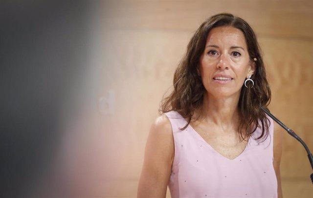 La consejera de Presidencia de la Comunidad de Madrid, Eugenia Carballedo. Archivo.