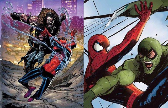 Spider-Man se enfrenta a Kraven y Escorpión en los cómics Marvel