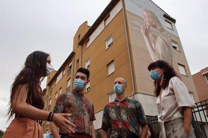 Ruta por los murales de Barrio España de Valladolid