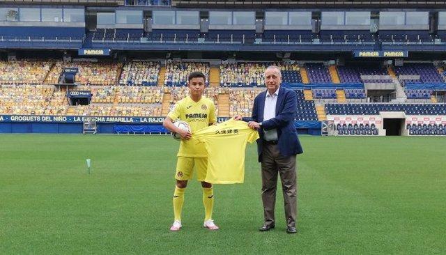 """Fútbol.- Kubo: """"Elegí al Villarreal porque era la mejor opción y ahora tengo que"""