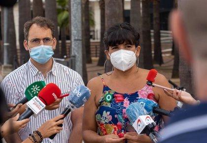 """Teresa Rodríguez achaca """"ruptura"""" de negociación sobre Adelante a IU, que ve bloqueo por """"usurpación antidemocrática"""""""