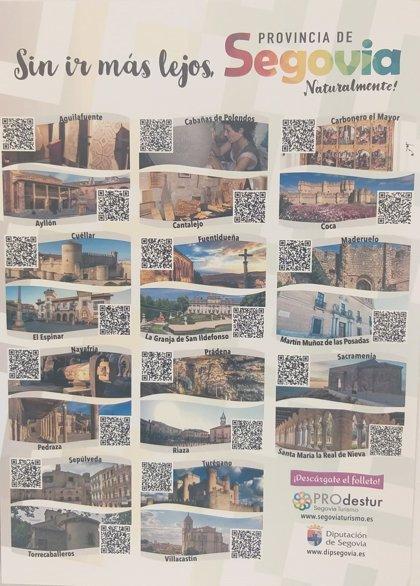 La Diputación de Segovia digitaliza la oferta turística de la provincia