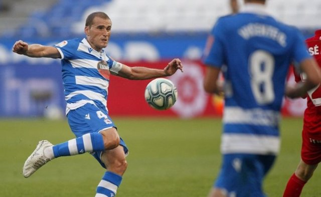 Álex Bergantiños, jugador del Deportivo de La Coruña, en una imagen de archivo