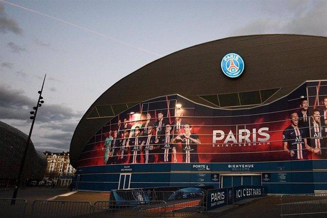 11 March 2020, France, Paris: A general view of the Parc des Princes, host venue of the UEFA Champions League.