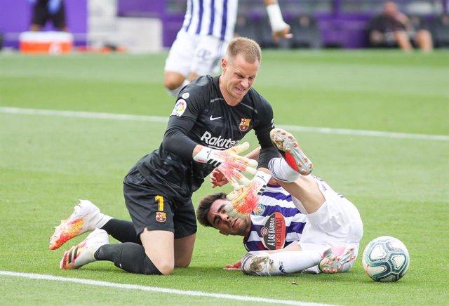 Fútbol.- El Valladolid amplía hasta 2025 el contrato del centrocampista Kike Pér