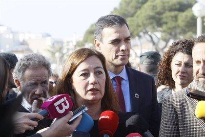 Rey Felipe.- Pedro Sánchez se reunirá con Armengol después del despacho con el Rey en Marivent