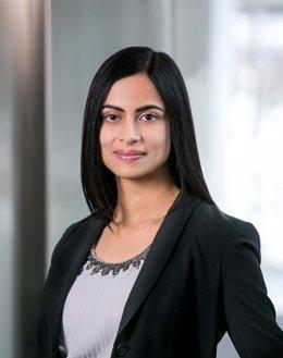 La nueva directora financiera de Stripe, Dhivya Suryadevara.