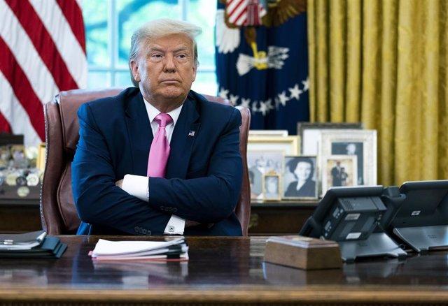 """EEUU/China.- Trump dice haber cambiado de opinión sobre Xi Jinping: """"Me caía bie"""