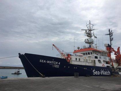 MSF reinicia en el puerto de Borriana el salvamento en el Mediterráneo tras un parón de seis meses