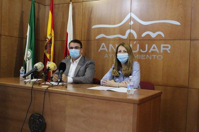 Presentación de las ayudas para pymes y autónomos del Ayuntamiento de Andújar.