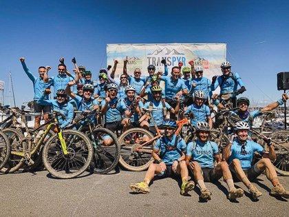 Everesting Challenge, el nuevo desafío de ciclistas con discapacidad intelectual del equipo Tressis A LA PAR