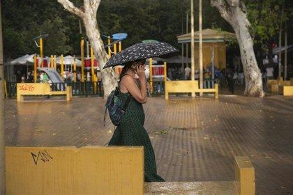 La provincia de Córdoba registra una veintena de incidencias por la lluvia y fuertes tormentas