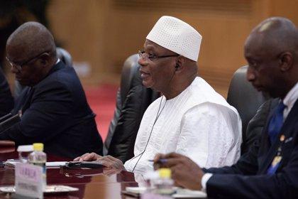 AMP.-Malí.-Miles de personas participan en nuevas movilizaciones en Bamako para pedir la dimisión del presidente de Malí