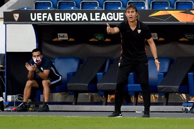 """Fútbol/Liga Europa.- Lopetegui: """"Era un partido de picar piedra, somos justos ac"""