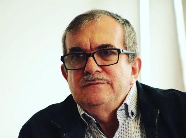 El líder del partido Fuerza Alternativa Revolucionario del Común (FARC), surgido de la extinta guerrilla, Rodrigo Londoño Echeverri, alias 'Timochenko'