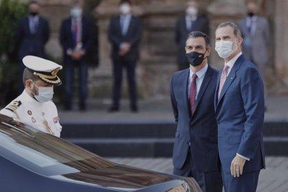 El Rey Felipe VI y Sánchez despachan este miércoles en Mallorca por primera vez tras la marcha de Juan Carlos I