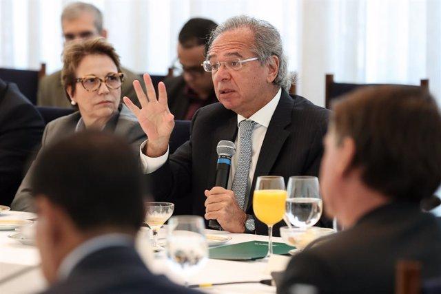 El ministre d'Economia del Brasil, Paulo Guedes.