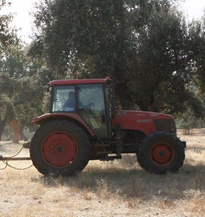 Fallece un trabajador de 27 años atropellado por un tractor en una finca de Badajoz